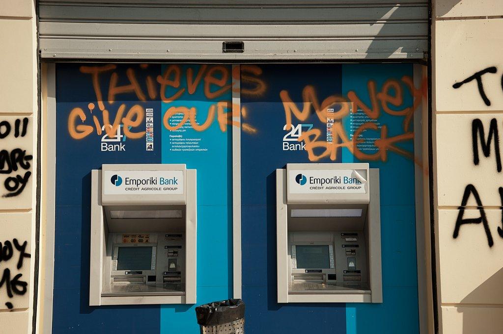 Bank, Athens - Athen (2011)